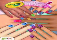 Les ongles en folie Crayola