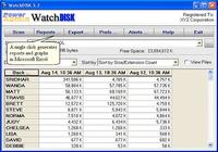 WatchDISK Disk Space Tracker