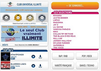 Club Universal Music Illimité Android