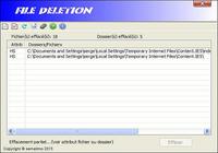 File deletion