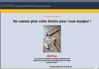ZatYoo TouchScreen, BackOffice et Pocket