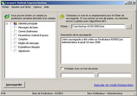 Compact Outlook Express Backup