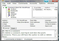 Comment Client for WordPress