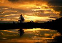 Unusual Sunset Screensaver