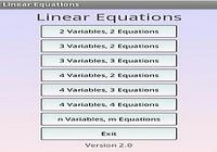 Linear Solver Système équation