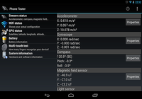 Phone Tester (sensors, GPS...)