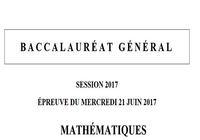 Bac 2017 Mathématiques - Séries L et ES