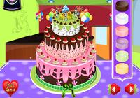 Décoration de gâteau de Jeux