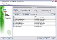 EMS Data Import 2005 for PostgreSQL