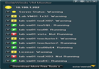 SolarWinds Free VM Console