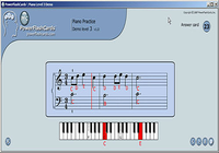 PFC Piano Flash Cards Exercises for Windows