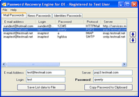 Password Recovery Engine for Outlook Express