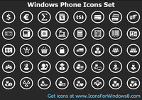 Windows Phone Icons Set