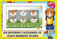 Nombres, Animaux, pour enfants