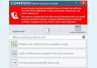 Comodo Internet Security Essentials