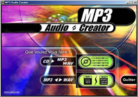 MP3 audio creator