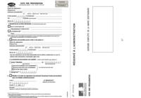 Formulaire Procuration de vote