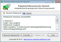 Password Recovery for Gizmo5