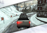Winter Traffic Car Driving 3D