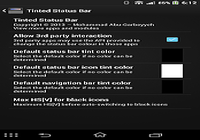 Tinted Status Bar Donation