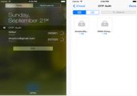 OTP auth iOS