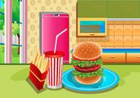 Jeux de filles thon burger