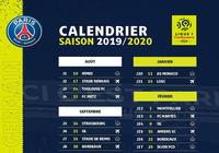 Calendrier PSG Ligue 1