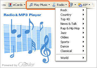 Crawler Radio & MP3 Player