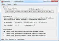 Outlook-Android Sync