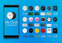 Me Clock -widget horloge