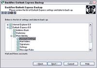 BackRex Outlook Express Backup