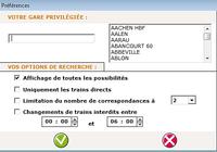 Les horaires de trains SNCF