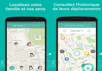 Localisation Famille GeoZilla Android