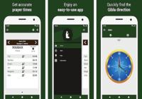 Heures de prières: Qibla, Adhan iOS