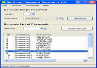SoftFuse Password Generator