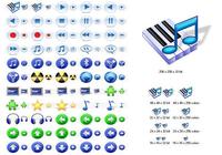 Multimedia Icons for Vista