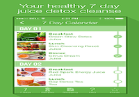 7 Day Juice Detox Cleanse
