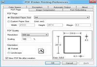 PDF Printer for Windows 8