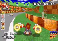 Sonic Robo Blast 2 Kart Linux