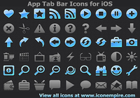 App Tab Bar Icons for iOS
