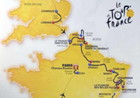Le tracé du tour de France 2014