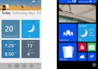 Météo 3.0 (Windows Phone)