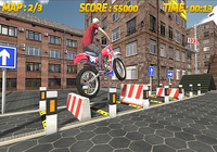 Course de vélo 3D: cascadeur