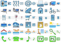 Standard Hotel Icons