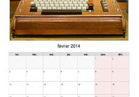 Calendrier 2014 PDF  l'histoire des ordinateurs