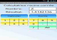 Calculateur de racine carrée