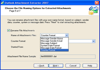 Outlook Attachments Extractor 2007