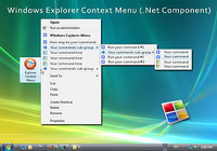 Windows Explorer Shell Context Menu (For .NET)