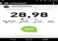 MiCoach Courir