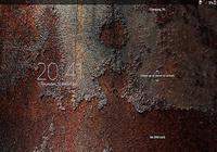 Xperia™ thème - Rusty